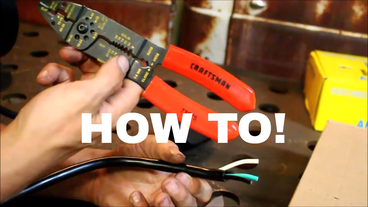 How To Wire A 220 Plug Youtube Hobart Power 230 Volt Male Plugpin Type 50 Amps Model