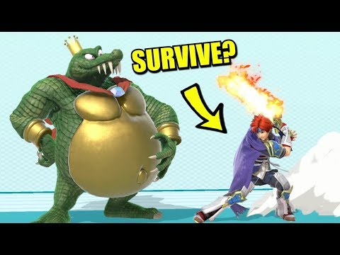 Super Smash Bros. Ultimate - Who Can Survive Roy's Neutral Special?