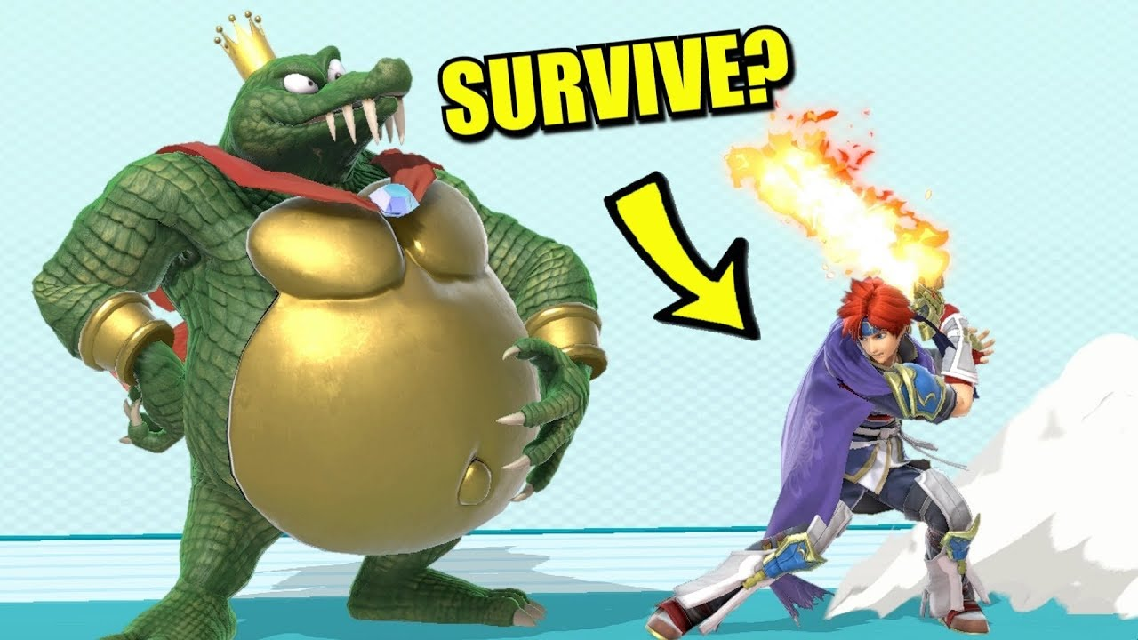 Super Smash Bros. Ultimate - Who Can Survive Roy's Neutral Special? thumbnail
