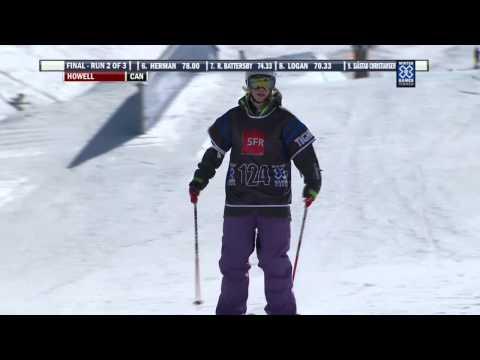 Winter X Games Tignes 2012: Dara Howell Slopestyle Bronze