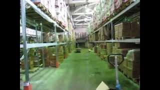 Стеллажи паллетные складские(Паллетные стеллажи изготовлены 2006г для компании Стингрей., 2015-02-25T08:36:59.000Z)