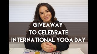 Giveaway to Celebrate International Yoga Day 2019