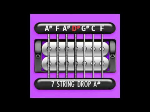 Perfect Guitar Tuner (7 String Drop A# / Bb)