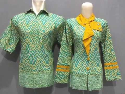 Model Baju Batik Kombinasi Modern Untuk Kerja Hp 081330534158