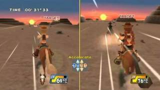 Active Life Explorer (Wii) Horseback Gameplay Video