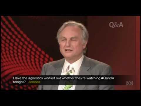 ABC Q&A: Professor Richard Dawkins vs Cardinal George Pell 10 April 2012 (HD)