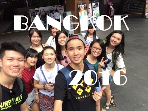BANGKOK,Thailand travel video 2016