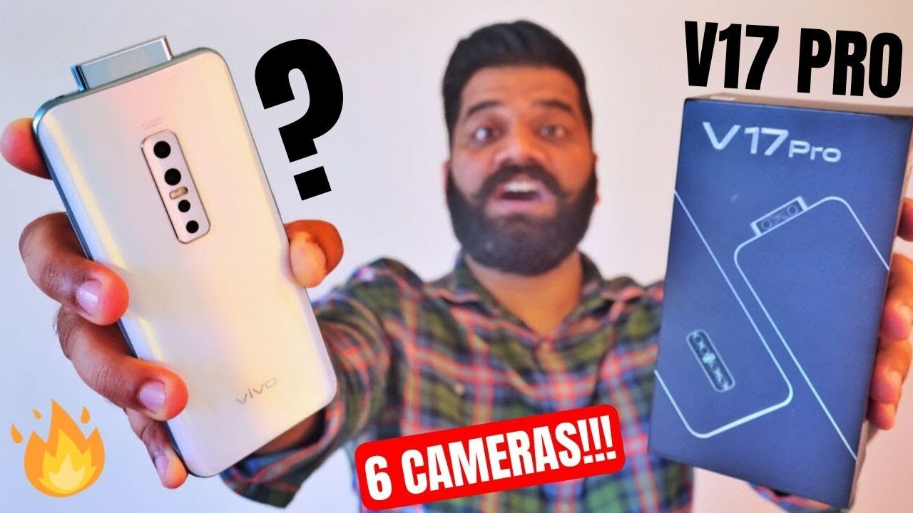 vivo V17 Pro Unboxing & First Look - 6 Cameras - Dual Pop Up Selfie #ClearAsReal?