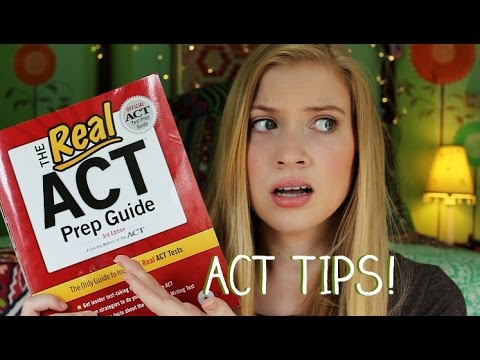 ACT Crash Course! Quick Tips to Improve Your Score! (2015) | Lottie Smalley