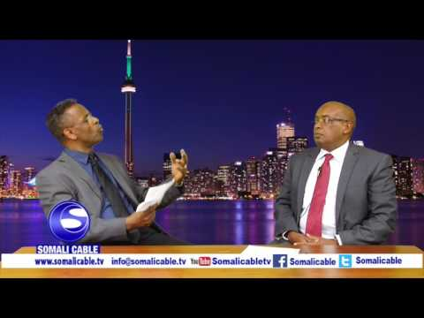 Todobaadka iyo Toronto Waraysi Gudoomiyaha Jaaliyada Khatumo ee Canada