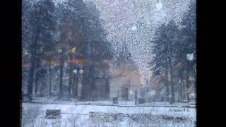 Cetinje sa snijegom (Autor Mirjana Aleksandrova Rajkovic)