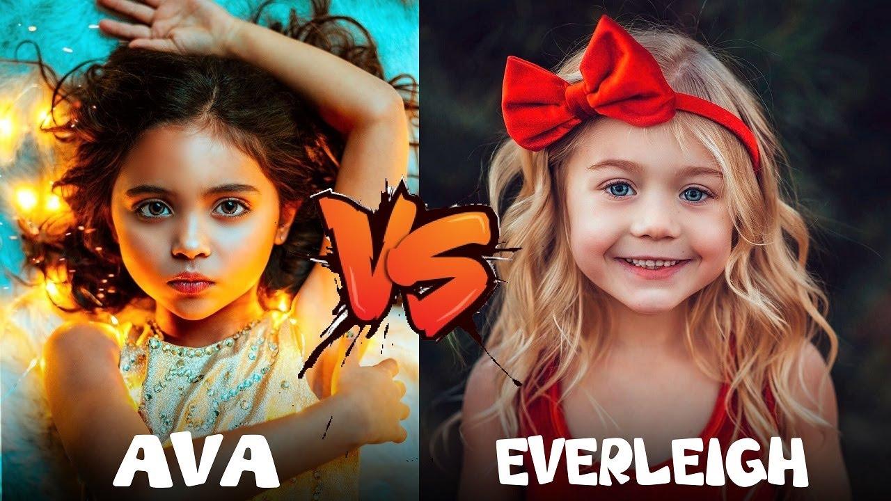 Everleigh VS Ava They are Alike !!