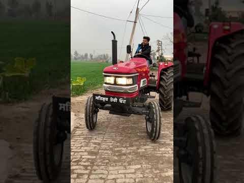 Pind di Mauj - Guru Randhawa on Tractor