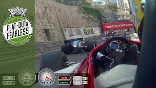 On board Monaco Historic practice - the best bits
