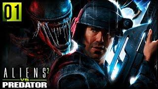 XENOS IN THE WALLS | Aliens VS Predator 2 (Marine Campaign Part 1)