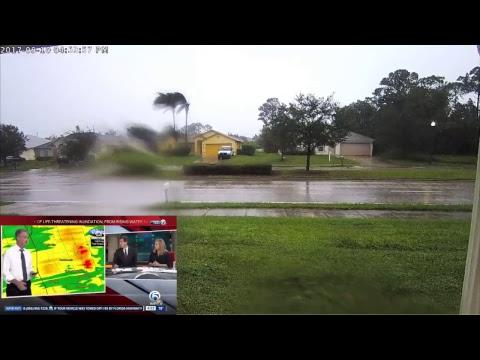 Hurricane Irma Live Stream from Port St Lucie FL
