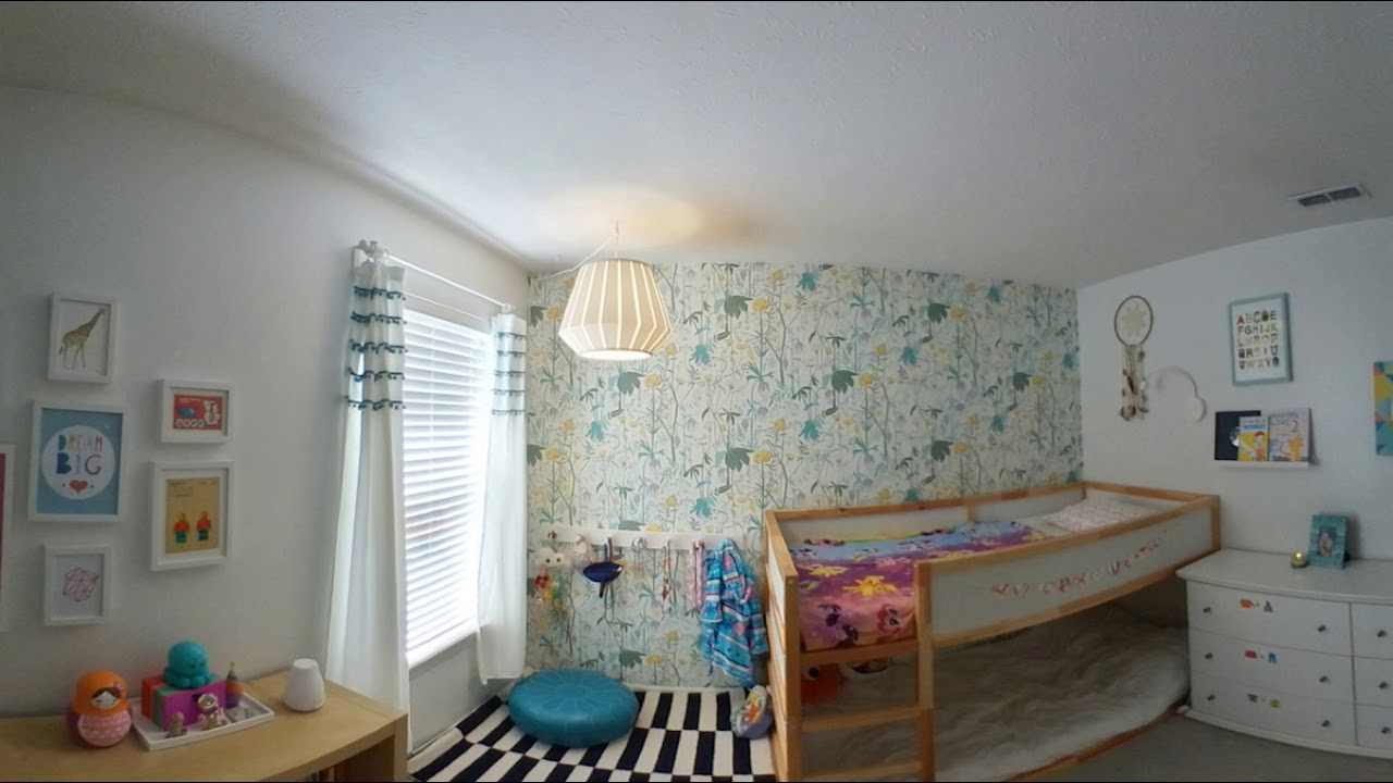 The Clean Bedroom: 360 View of a Montessori Inspired Bedroom - YouTube