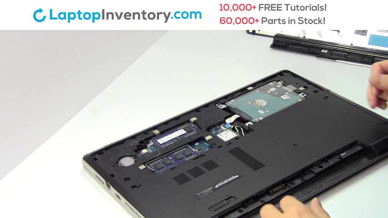 Dell Inspiron 15-5000 WiFi Card Replacement Disassembly Take Apart 15-3000  15-7000 17-5000 Vostro 15