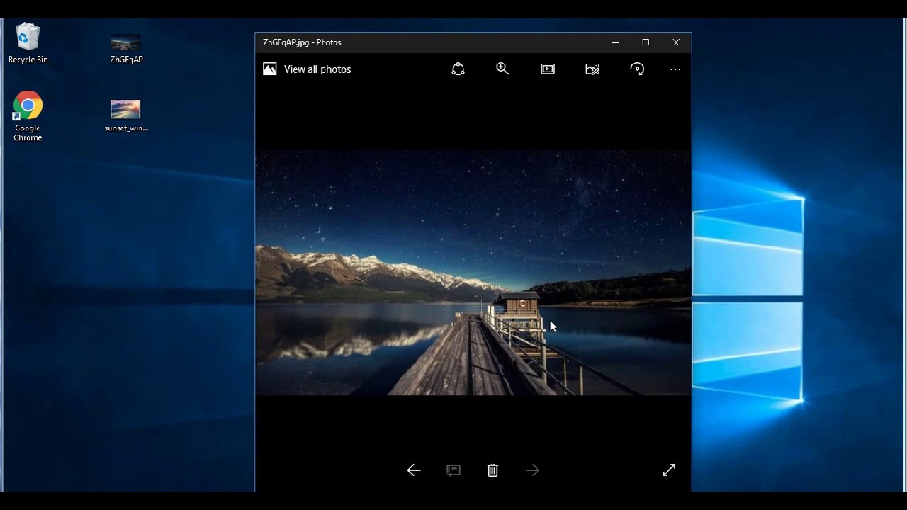 How to Bring back windows 7 Photo Viewer in Windows 10
