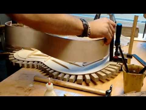 Spanish classical guitar building assembly-part 1