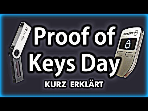 Proof of Keys Day | Schlüsselprüfung am 3. Januar