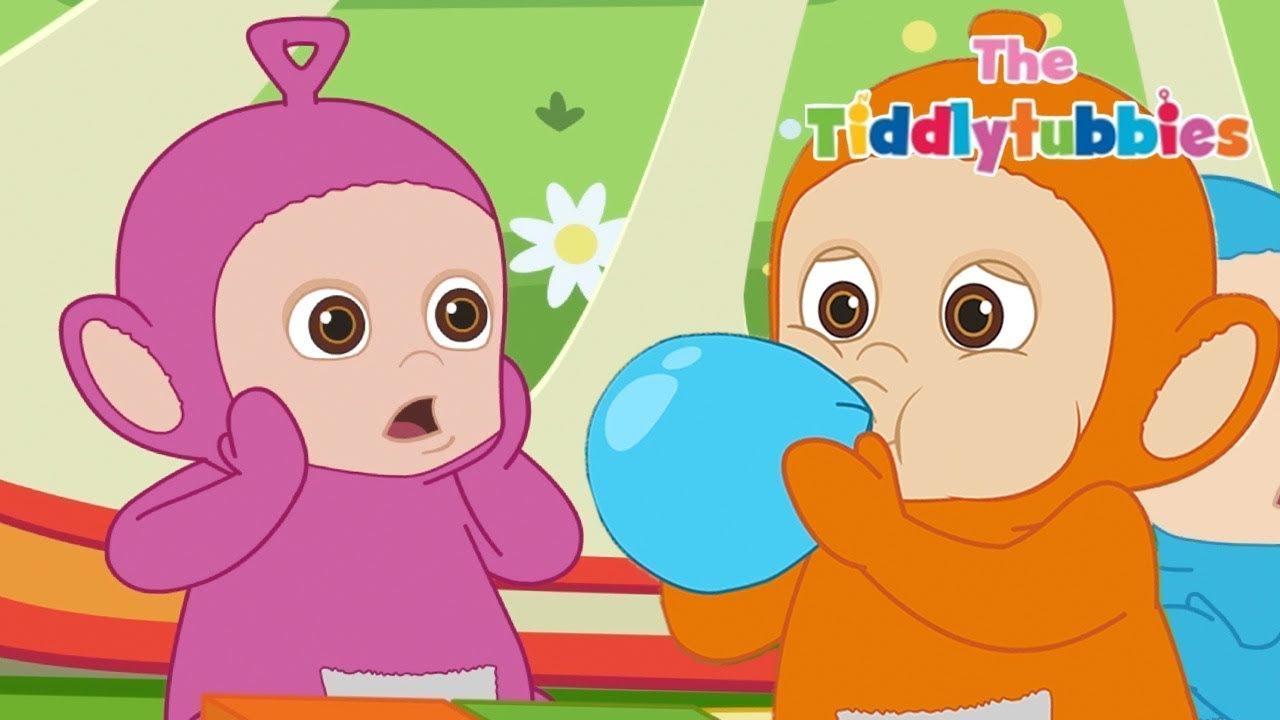 Teletubbies en français✨ Nouvelles Tiddlytubbies Épisode 7✨dessin animé pour bébé