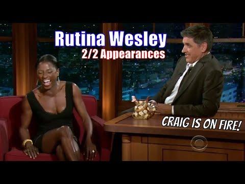 "Rutina Wesley - ""I Like It Sexy & Raw""- 2/2 Appearances On Craig Ferguson [720p]"