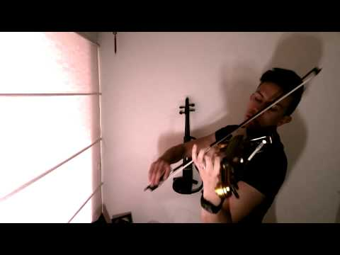 Diego Esteban - Shatter Me by Lindsey Stirling (Electric Violin Cover)