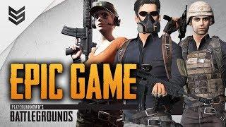 Battlegrounds - Возвращение Эпичных Матчей (1440p)