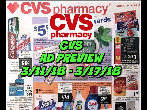 CVS AD PREVIEW 3/11 - 3/17 ~ HOT Persil deal, makeup deals & more!