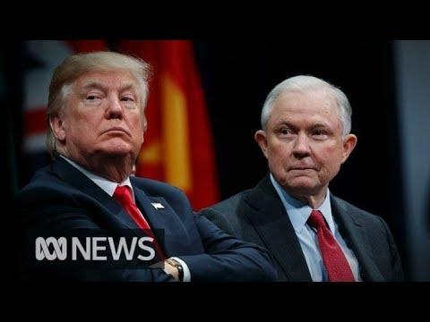 """""""I FIRED HIM!"""" Donald Trump sacks US Attorney-General Jeff Sessions 