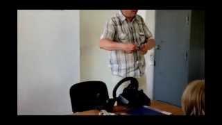 1-й урок по вождению в автошколе ТСОУ г. Житомир(Это видео - инструкция , как пользоваться автомобилем. Причем - не только для