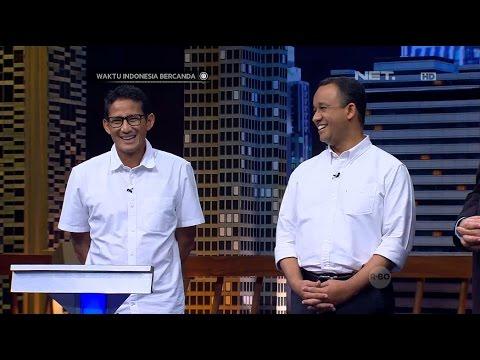Waktu Indonesia Bercanda - Anies Baswedan-Sandiaga Uno Datang, Cak Lontong Kicep (1/4)
