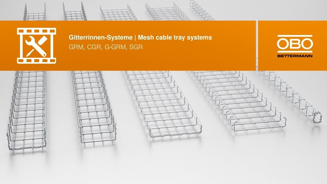 Mesh cable tray systems – OBO Bettermann