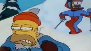 The Simpsons- Homer's Skiing incident- Stupid sexy flanders