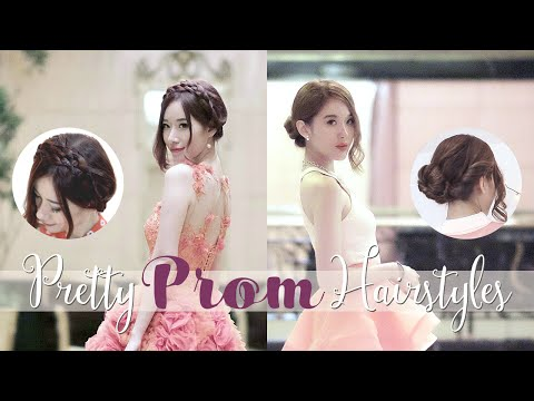 2 Elegant Easy Updo Hairstyles For Prom (+ Outfits!)