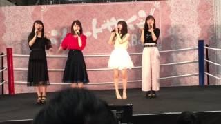 小嶋真子 高橋朱里 込山榛香 飯野雅.