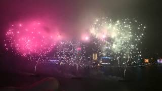 HK 2015 fireworks with sound effects