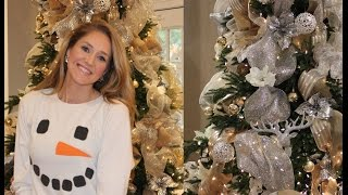 How to Decorate your Christmas Tree with Ribbon (Achieve a High End New York Department Store Look)