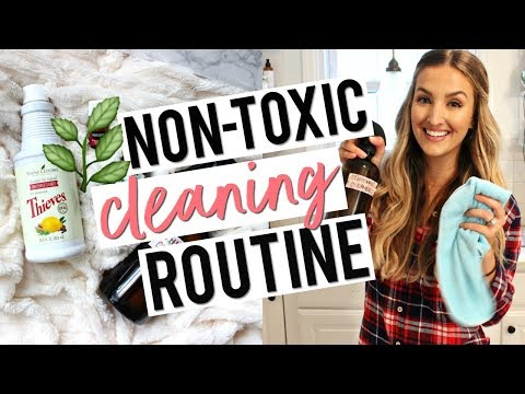 MY NON-TOXIC, ALL NATURAL CLEANING ROUTINE