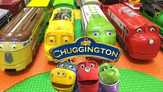 【vláček】14 Chuggington Vlaky s English dětské písničky (01041 z cz)