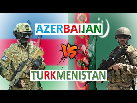 Azerbaijan vs Turkmenistan Military Power and Economic Comparison