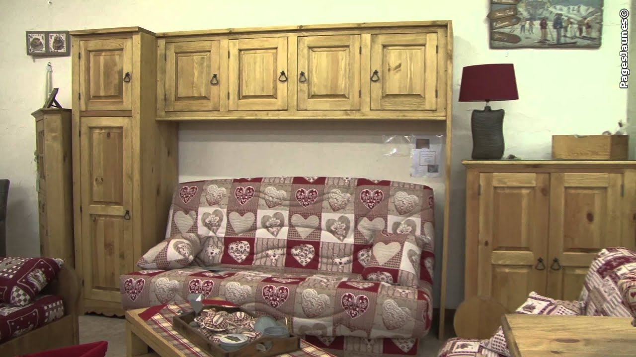 les meubles b rard situ s en plein centre de bourg d 39 oisans en is re 38 youtube. Black Bedroom Furniture Sets. Home Design Ideas