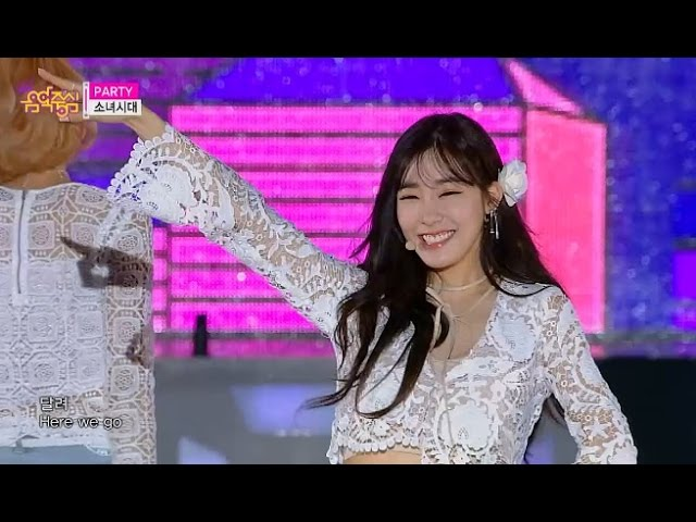 【TVPP】SNSD - Party, 소녀시대 – 파티 @ Show Music Core Live in Ulsan