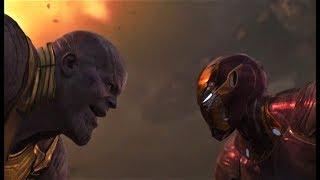 Танос против Мстителей и Стражи Галактики (песня Skillet Rise).