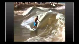Comment créer une vague de surf ?