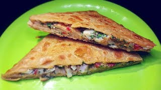 Egg Paratha ( Anda Paratha )| Egg Stuffed Paratha|Quick and Easy Egg Breakfast Recipe