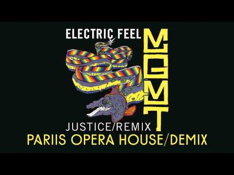 Electric Feel  MGMT Justice Remix Pariis Opera House Demix