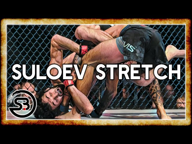 Suloev Stretch Hamstring Submission - Kneebar from back mount in MMA