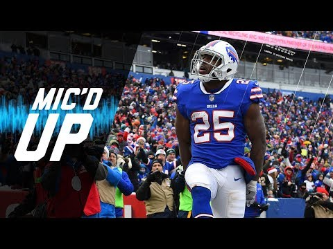"LeSean McCoy Mic'd Up vs. Dolphins ""Tyrod, You Faster Than Me?"" 